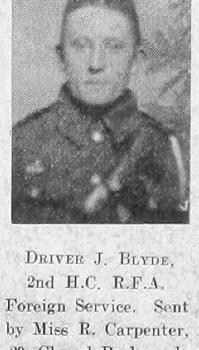 James Blyde