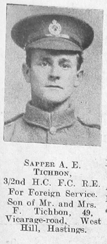 Arthur E Tichbon