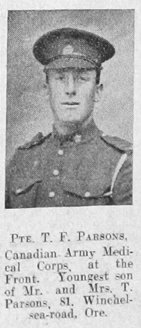 Thomas Frederick Parsons