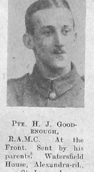 Harold J Goodenough