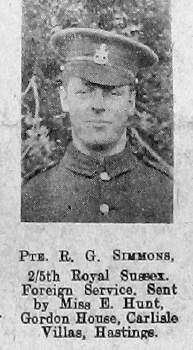 R G Simmons