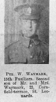 William H Waymark