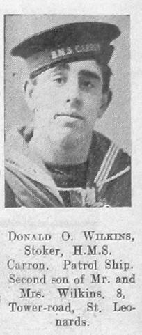 Donald O Wilkins
