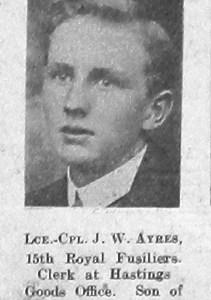J W Ayres