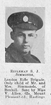 S J Simmonds