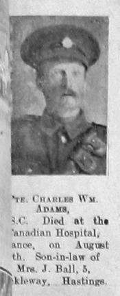 Charles William Adams