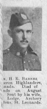 Harold Reginald Barnes