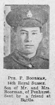 F Boorman