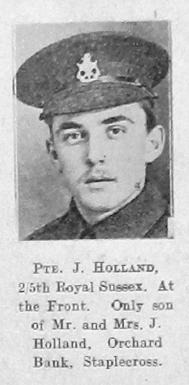 J Holland