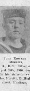 Merritt, John Edward Mark