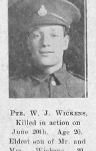 Walter J Wickens