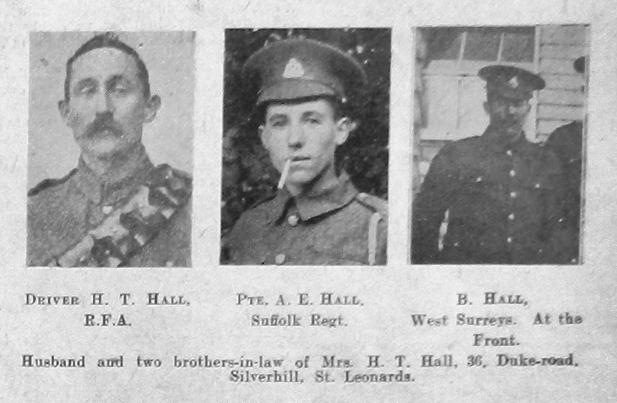 Hall, A E