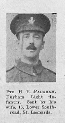 H H Padgham