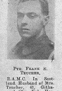 Frank E Teucher