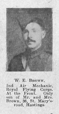 Brown, W E