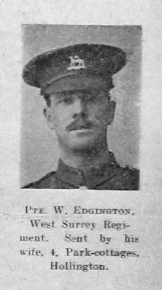 W Edgington