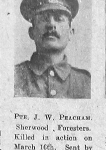 James W Peacham