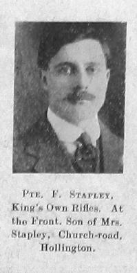 Stapley, Frederick W