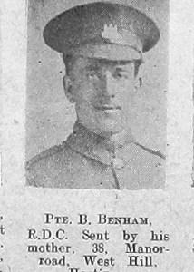 B Benham
