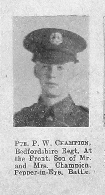 Percy W Champion