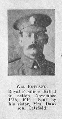 Putland, William