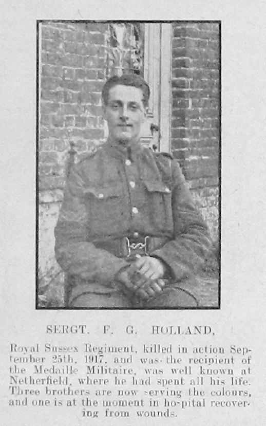Franklin George Holland