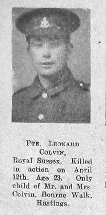 Colvin, Leonard