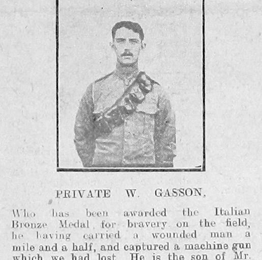 Gasson, William