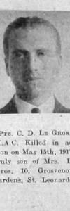 Le Gros, Claude Douglas
