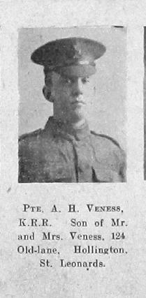 Arthur H Veness