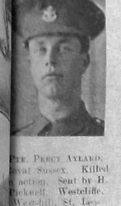 Percy Frederick Aylard
