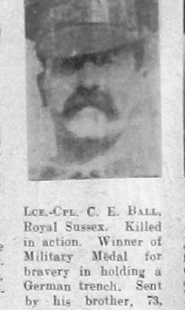 Charles E Ball