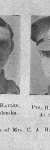 Hayler, William E