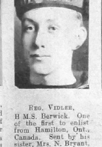 Reginald Vidler