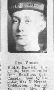 Reginald Vidler