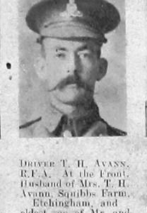 Thomas H Avann