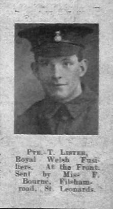 Thomas F Lister