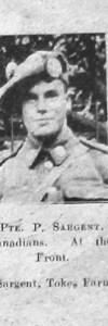 Sargent, Percival John Philip