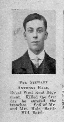 Hale, Stewart Anthony