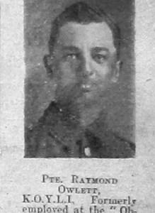 Ryamond P Owlett