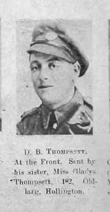 D B Thompsett