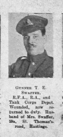 Swaffer, Thomas Edward