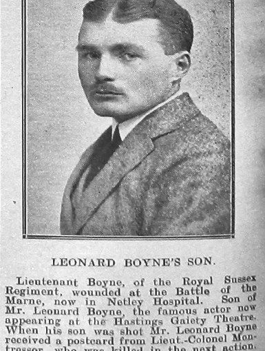 Boyne, Lytton Leonard