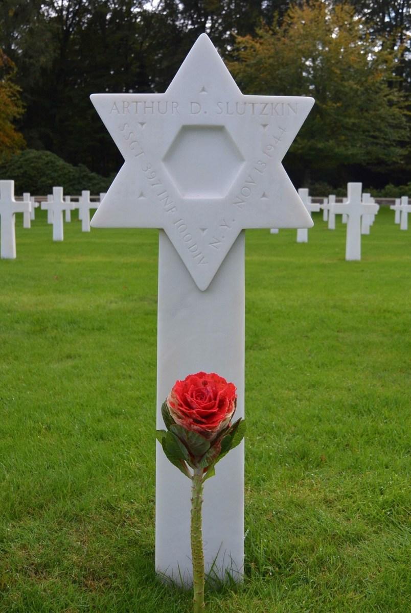 Arthur D. Slutzkin gravesite, Epinal, France