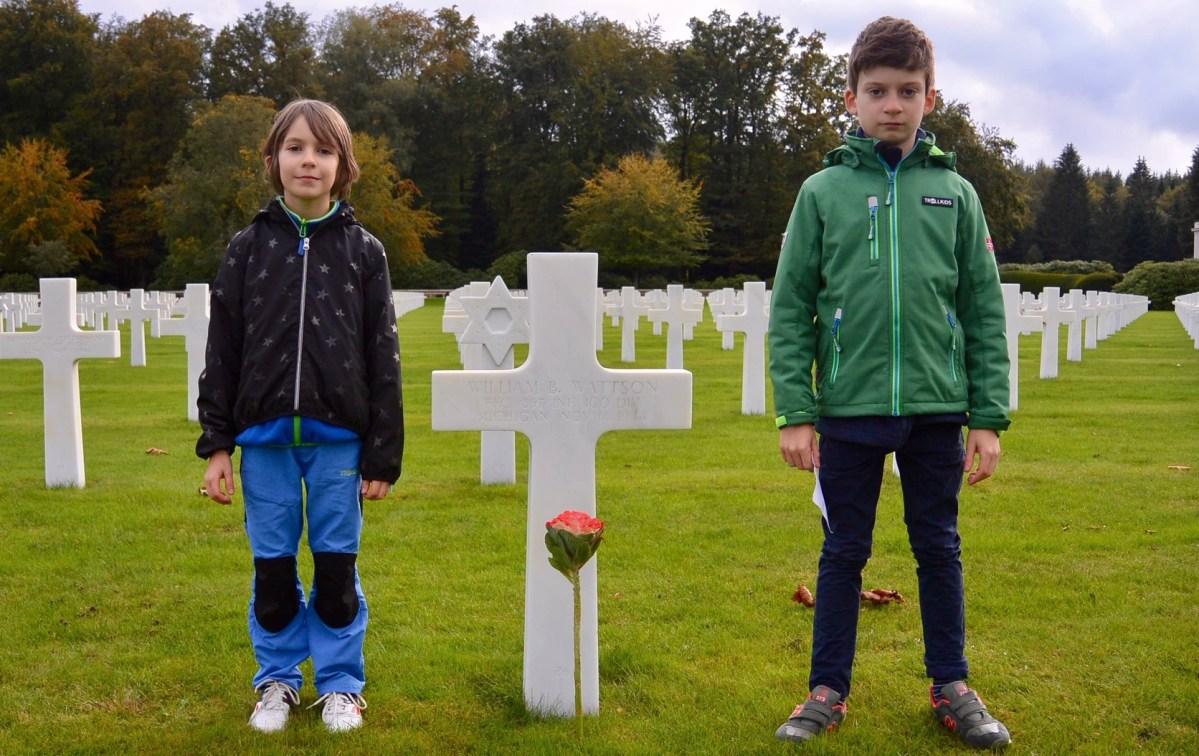 William B. Wattson gravesite, Epinal, France