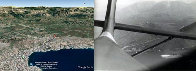 Η ταυτοποίηση της τοποθεσίας μέσα από τη σύγκριση φωτογραφιών, ήταν το πρώτο βήμα του διακεκριμένου ερευνητή και έμπειρου αυτοδύτη Γιώργου Καρέλα.