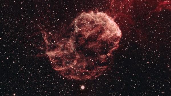 IC 443, Jellyfish Nebula in Gemini, 1920x1080