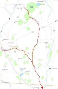 300x454 Alapahoochee River, Lowndes County, GA, Jennings, Hamilton County, FL, in Streamer, by John S. Quarterman, for WWALS.net, 4 July 2014