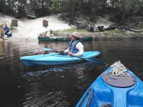1600x1200 Gretchen Quarterman at Hotchkiss Road, in Alapaha River Outing, by John S. Quarterman, for WWALS.net, 24 August 2014