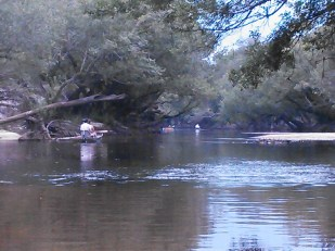 1600x1200 Blackwater shoals again, in Alapaha River Outing, by John S. Quarterman, for WWALS.net, 24 August 2014
